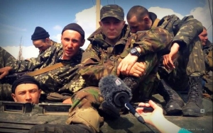 Hromadske.tv interviu su užblokuotais Ukrainos kariais