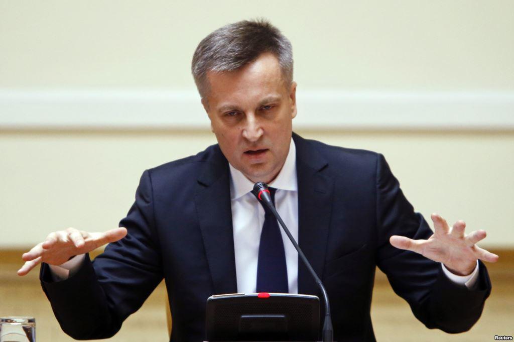 Dabartinis Ukrainos SBU (saugumo) vadovas Valentinas Nalivaičenka